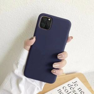 For iPhone 11 Navy Blue Case